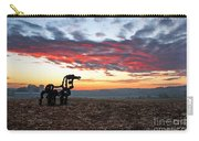 The Iron Horse Early Dawn The Iron Horse Collection Art Carry-all Pouch