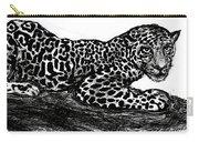 The Jaguar  Carry-all Pouch