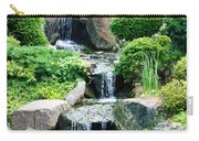 The Japanese Garden Carry-all Pouch by Bill Cannon