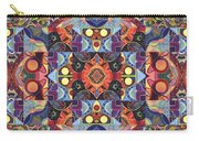 The Joy Of Design Mandala Series Puzzle 1 Arrangement 2 Carry-all Pouch by Helena Tiainen