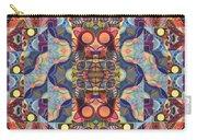 The Joy Of Design Mandala Series Puzzle 1 Arrangement 5 Carry-all Pouch