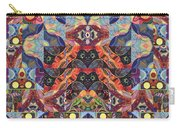 The Joy Of Design Mandala Series Puzzle 1 Arrangement 9 Carry-all Pouch