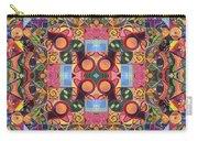 The Joy Of Design Mandala Series Puzzle 2 Arrangement 1 Carry-all Pouch