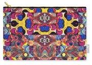 The Joy Of Design Mandala Series Puzzle 3 Arrangement 6 Carry-all Pouch
