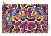 The Joy Of Design Mandala Series Puzzle 3 Arrangement 8 Carry-all Pouch