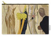The Judgement Of Paris Carry-all Pouch by Georges Barbier