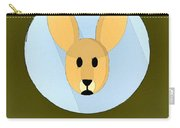 The Kangaroo Cute Portrait Carry-all Pouch