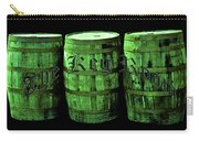 The Keg Room 3 Green Barrels Old English Hunter Green Carry-all Pouch