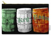 The Keg Room Irish Flag Colors Old English Hunter Green Wave Carry-all Pouch