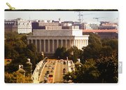 The Key Bridge And Lincoln Memorial Carry-all Pouch