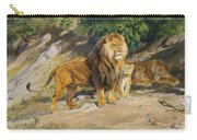 The King Watches Carry-all Pouch