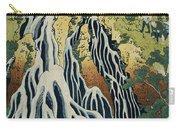 The Kirifuri Waterfall Carry-all Pouch by Hokusai