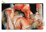 The Kiss Carry-all Pouch by Graham Dean