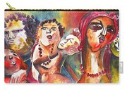 The Ladies Of Loket In The Czech Republic Carry-all Pouch by Miki De Goodaboom