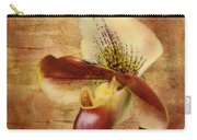 The Lady Slipper Orchid Carry-all Pouch