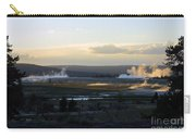 The Land Of Geysers. Yellowstone Carry-all Pouch