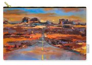 The Land Of Rock Towers Carry-all Pouch by Elise Palmigiani