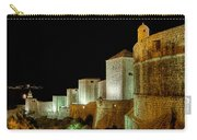 The Landside Walls Of Dubrovnik At Night No2 Carry-all Pouch
