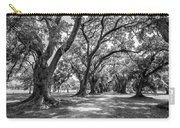 The Lane Bw Carry-all Pouch by Steve Harrington