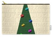The Language Of Christmas Carry-all Pouch