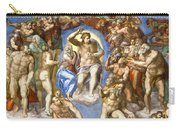 The Last Judgment - Detail Carry-all Pouch