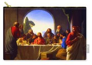 The Last Supper By Carl Heinrich Bloch Carry-all Pouch