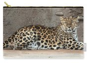 The Leopard Carry-all Pouch