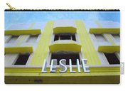 The Leslie Hotel Carry-all Pouch
