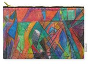 The Letter Dalet 2 Carry-all Pouch by David Baruch Wolk