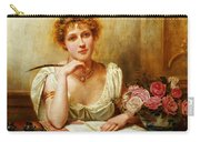 The Letter  Carry-all Pouch by George Goodwin Kilburne