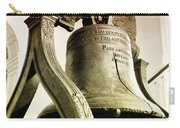 The Liberty Bell Carry-all Pouch by Bill Cannon