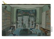 The Library, C.1820, Battersea Rise Carry-all Pouch by English School