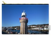 The Lighthouse And Fishing Harbour Carry-all Pouch