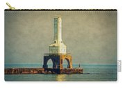 The Lighthouse And The Fisherman Carry-all Pouch