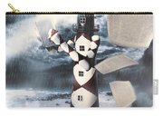 The Lighthouse And The Fishermans Tale Carry-all Pouch