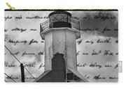 The Lighthouse Poem Carry-all Pouch