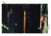 The Lights Of New York City Carry-all Pouch