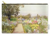 The Lily Border At Great Tangley Manor Carry-all Pouch