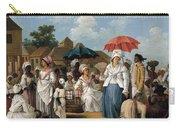 The Linen Market. Santo Domingo Carry-all Pouch