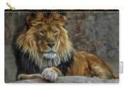The Lion Digital Art Carry-all Pouch