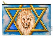 The Lion Of Judah #5 Carry-all Pouch