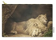 The Lion Sleeps Tonight Carry-all Pouch