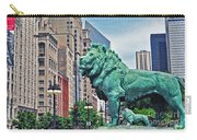 The Lions Of Chicago Carry-all Pouch