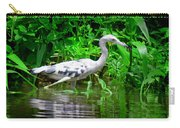 The Little Blue Heron Carry-all Pouch
