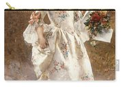 The Little Flower Girl  Carry-all Pouch by Albert Raudnitz