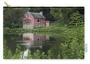 The Little Pink Cabin With Ripples Carry-all Pouch