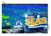 The Living Seas Signage Walt Disney World Carry-all Pouch