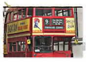 Vintage London Bus Carry-all Pouch