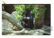 The Lone Chimp Carry-all Pouch