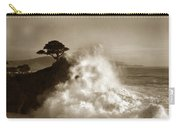 The Lone Cypress Midway Point Pebble Beach  Lewis Josselyn  Circa 1916  Carry-all Pouch